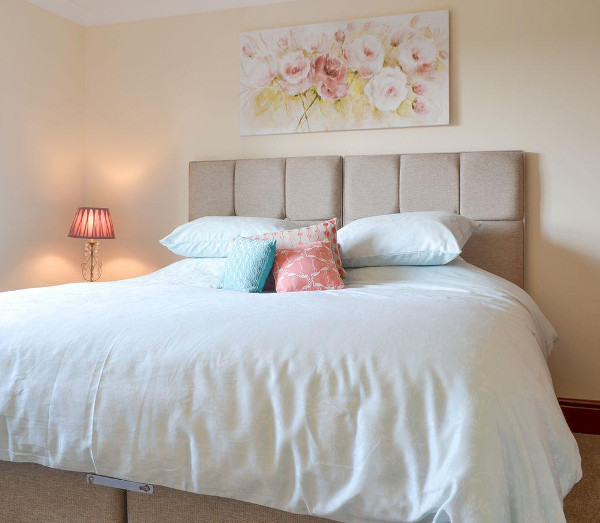 One of the four bedrooms at Sycamore House in Deopham Green