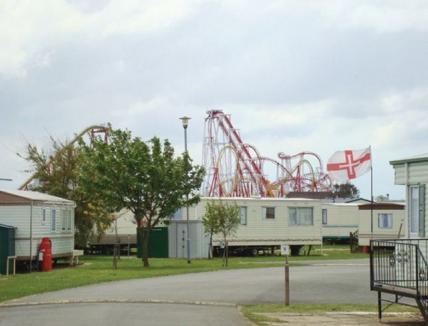 The Chase Holiday Park in Ingoldmells near Skegness is a quiet caravan park