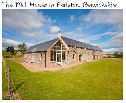 The Mill House is Earlston, Berwickshire is a holiday cottage located on a working farm. The Mill House sleeps 10 people and pet friendly