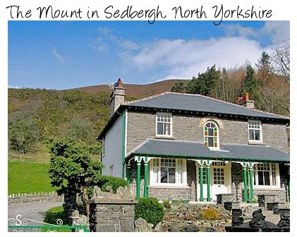 The holiday cottage The Mount can be found in Sedbergh - in the Yorkshire Dales National Park
