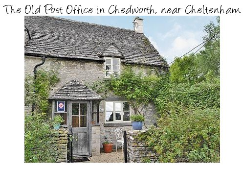 The Old Post Office in Chedworth is a 17th century cottage near Cheltenham