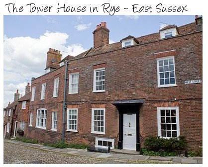 The Tower House is a large holiday cottage in Rye, East Sussex