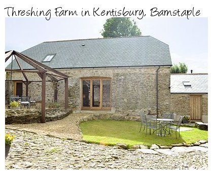 Threshing Farm is a holiday cottage in Kentisbury near Barnstaple