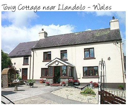 Towy Cottage near Llandeilo in the heart of Wales