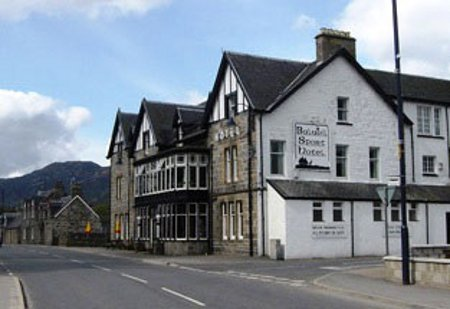 The town of Newtonmore, near Treetops