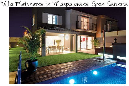 A villa on Gran Canaria suitable for friends and family, Villa Meloneras, in Maspalomas, sleeps 8 people in 4 bedrooms