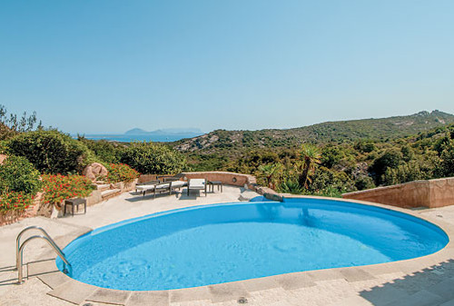 Villa Pevero Hill 1 in Porto Cervo, Sardinia, sleeps 10 people