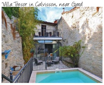 Villa Tresor is a large holiday villa in Calvisson, near Gard in the south of France. Villa Tresor sleeps 10 people