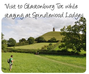 Visit to Glastonbury Tor whilst staying at Spindlewood Lodges
