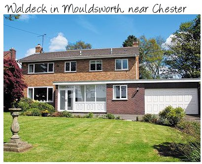 Waldeck is a large modern holiday home near to Chester