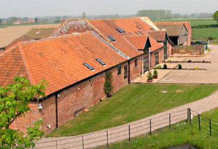 Wheatacre Hall Barns in Wheatacre, near Beccles, are barn conversions on the Norfolk/Suffolk border