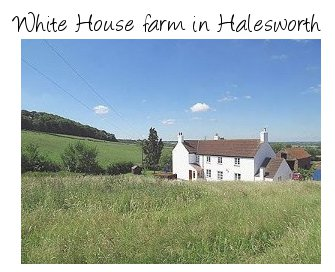 White House farm in Halesworth for a large holiday home suitable for friends and family