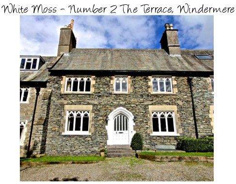White Moss - Number 2 The Terrace, is a large old property in Windermere - sleeps 11 people