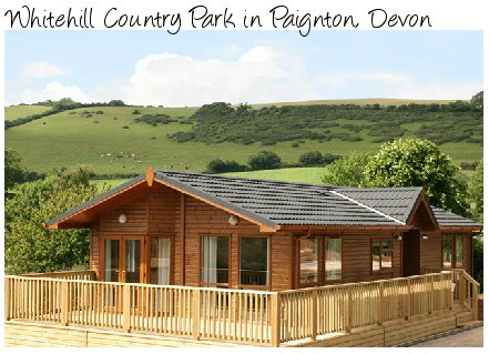 Whitehill Country Park is a lovely holiday park near Paignton in Devon - lodges and caravans sleeping 4 - 6 people