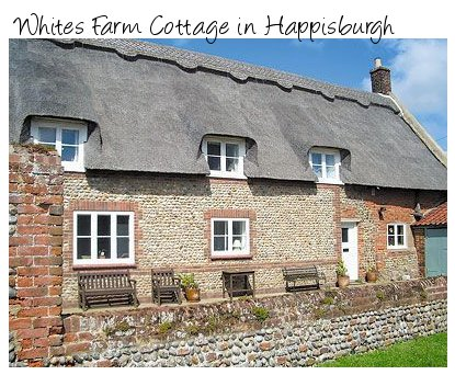 Whites Farm Cottage in Happisburgh is a traditional property, now a lovely holiday cottage