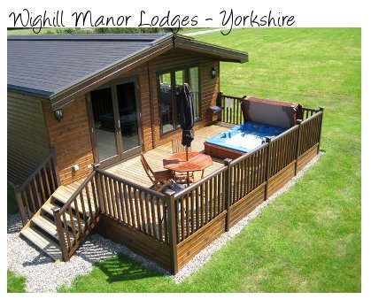 Rent a lodge in Yorkshire at Wighill Manor Lodges, with a private hot tub